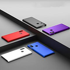 Недорогие Чехлы и кейсы для Xiaomi-Кейс для Назначение Xiaomi Xiaomi Redmi 6 Pro / Redmi S2 Матовое Кейс на заднюю панель Однотонный Твердый ПК для Xiaomi Redmi Note 5 Pro / Xiaomi Redmi Note 6 / Xiaomi Redmi 6 Pro