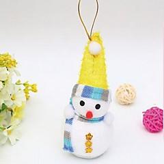 abordables Decoración del Hogar-Decoraciones de vacaciones Decoraciones Navideñas ornamentos de Navidad Decorativa / Encantador Multicolor 1pc