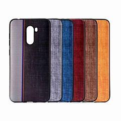 Недорогие Чехлы и кейсы для Xiaomi-Кейс для Назначение Xiaomi Xiaomi Pocophone F1 / Mi 8 SE С узором Кейс на заднюю панель Плитка Мягкий ТПУ для Xiaomi Redmi Note 5 Pro / Xiaomi Pocophone F1 / Xiaomi Mi 8