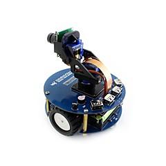 お買い得  Arduino 用アクセサリー-wavehareアルファボット2-pizero wh(en)アルファボット2ラズベリー・パイ・ゼロ・ホワット用ロボット構築キット(内蔵Wi-Fiプリ・ハンダ付けヘッダー)