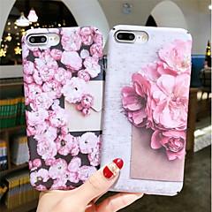Недорогие Кейсы для iPhone 6-Кейс для Назначение Apple iPhone XR / iPhone XS Max Сияние в темноте / С узором Кейс на заднюю панель Цветы Твердый ПК для iPhone XS / iPhone XR / iPhone XS Max