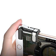 お買い得  ビデオゲーム用アクセサリー-ゲームトリガー 用途 Android / iOS 、 パータブル / クリエイティブ / 新デザイン ゲームトリガー PVC / メタル 1 pcs 単位