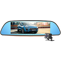 abordables Electrónica de Coche-newsmy g7 1080p visión nocturna 140 grados gran angular 7 pulgadas tft lcd monitor dash cam coche dvr con g-sensor / grabación de bucle