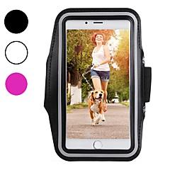 Недорогие Кейсы для iPhone X-Кейс для Назначение Apple iPhone XR / iPhone XS Max Спортивные повязки / Защита от удара / Защита от пыли С ремешком на руку Однотонный Мягкий Углеродное волокно для iPhone XS / iPhone XR / iPhone XS