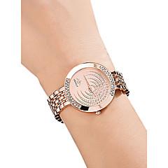 preiswerte Damenuhren-Damen damas Armbanduhr Quartz 30 m Wasserdicht Imitation Diamant Legierung Band Analog Freizeit Modisch Silber / Gold / Rotgold - Gold Silber Rotgold
