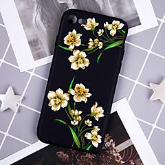Недорогие Кейсы для iPhone X-Кейс для Назначение Apple iPhone XR / iPhone XS Max С узором Кейс на заднюю панель Цветы Мягкий ТПУ для iPhone XS / iPhone XR / iPhone XS Max