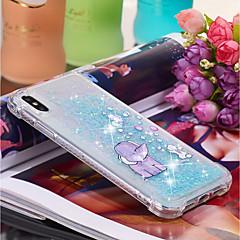 Недорогие Кейсы для iPhone-Кейс для Назначение Apple iPhone XR / iPhone XS Max Движущаяся жидкость / С узором Кейс на заднюю панель Слон Мягкий ТПУ для iPhone XS / iPhone XR / iPhone XS Max