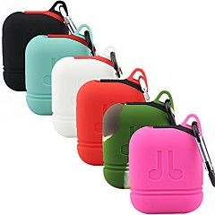 preiswerte Headsets und Kopfhörer-Kopfhörer Tasche Silikon Rote / Rosa / & 1 pcs