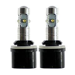 abordables Luces de Niebla de Coche-SENCART 2pcs 880/883 / T10 / H3 Coche Bombillas 25 W SMD LED 1000 lm 5 LED Luz Antiniebla / las luces exteriores Para