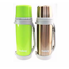 abordables Botellas de Agua-Vasos Botellas de Agua / Organizador de Viaje Acero + Plástico / Acero inoxidable / PP+ABS retener el calor Deporte / Festivos