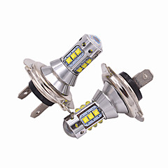 cheap Car Headlights-2pcs H7 Car Light Bulbs 50W High Performance LED 5000lm Headlamp