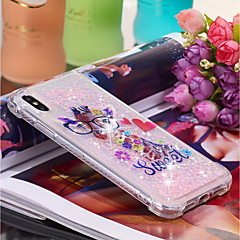 Недорогие Кейсы для iPhone X-Кейс для Назначение Apple iPhone XR / iPhone XS Max Движущаяся жидкость / С узором Кейс на заднюю панель Животное Мягкий ТПУ для iPhone XS / iPhone XR / iPhone XS Max