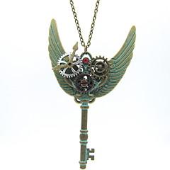 お買い得  ネックレス-女性用 クラシック ステートメントネックレス  -  ギア Steampunk クール 青銅色 60+5 cm ネックレス ジュエリー 1個 用途 ナイトアウト&特別な日, プロフェッショナル