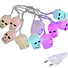 preiswerte LED Lichtstreifen-2,5 m Leuchtgirlanden 10 LEDs Mehrfarbig Dekorativ 220-240 V 1 set