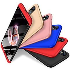 Недорогие Чехлы и кейсы для Xiaomi-Кейс для Назначение Xiaomi Mi 6X / Xiaomi A2 Защита от удара / Матовое Кейс на заднюю панель Однотонный Твердый ПК для Xiaomi Mi 6X(Mi A2) / Xiaomi A2