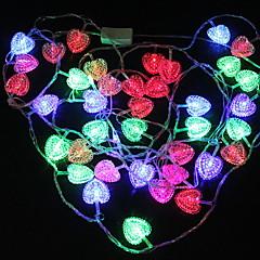 お買い得  LED ストリングライト-4m ストリングライト 28 LED マルチカラー 装飾用 220-240 V 1セット
