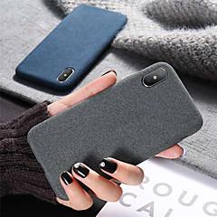 Недорогие Кейсы для iPhone 6 Plus-Кейс для Назначение Apple iPhone XR / iPhone XS Max Защита от удара / Ультратонкий Кейс на заднюю панель Однотонный Мягкий Силикон для iPhone XS / iPhone XR / iPhone XS Max