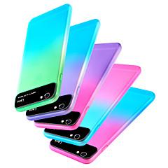 Недорогие Кейсы для iPhone X-Кейс для Назначение Apple iPhone XR / iPhone XS Max С узором Кейс на заднюю панель Градиент цвета Твердый ПК для iPhone XS / iPhone XR / iPhone XS Max