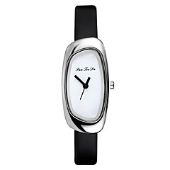 お買い得  レディース腕時計-女性用 ドレスウォッチ リストウォッチ クォーツ 新デザイン カジュアルウォッチ PU バンド ハンズ ファッション ミニマリスト ブラック / 白 / ブルー - Brown ピンク ライトブルー 1年間 電池寿命