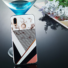 お買い得  Huawei Pシリーズケース/ カバー-ケース 用途 Huawei P20 Pro / P20 lite IMD / パターン バックカバー マーブル ソフト TPU のために Huawei P20 / Huawei P20 Pro / Huawei P20 lite