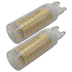 preiswerte LED-Birnen-2pcs 5 W 460 lm G9 LED Doppel-Pin Leuchten T 102 LED-Perlen SMD 2835 Warmes Weiß / Kühles Weiß 110-130 V