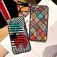 Недорогие Кейсы для iPhone 6 Plus-Кейс для Назначение Apple iPhone X / iPhone XS Max Защита от удара Кейс на заднюю панель Леопардовый принт Твердый ПК для iPhone XS / iPhone XR / iPhone XS Max
