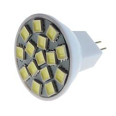 お買い得  LED 電球-SENCART 1個 5W 260lm MR11 LEDスポットライト MR11 15 LEDビーズ SMD 5060 装飾用 温白色 / クールホワイト 12V