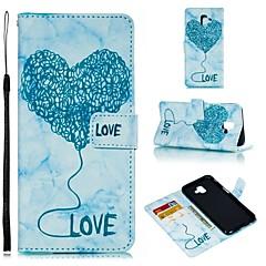 Недорогие Кейсы для iPhone X-Кейс для Назначение Apple iPhone X / iPhone XS Max Кошелек / Бумажник для карт / Флип Чехол С сердцем Мягкий Кожа PU для iPhone XS / iPhone XR / iPhone XS Max