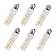 preiswerte LED-Birnen-6pcs 7.5 W 937 lm E17 LED Mais-Birnen T 100 LED-Perlen SMD 2835 Warmes Weiß / Kühles Weiß 85-265 V