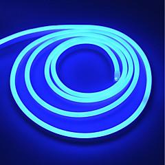 preiswerte LED Lichtstreifen-BRELONG® 5m Flexible LED-Leuchtstreifen 600 LEDs Warmes Weiß / Weiß / Rot Wasserfest / Party / Dekorativ 220-240 V 1pc