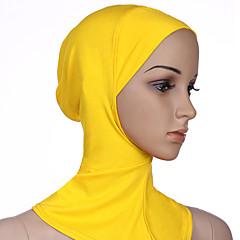 Недорогие Женские украшения-Жен. Классический Хиджаб - Сетка Однотонный