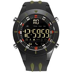 お買い得  メンズ腕時計-男性用 デジタルウォッチ デジタル ブラック 耐水 カレンダー 夜光計 デジタル カジュアル ファッション - コーヒー グリーン ブルー