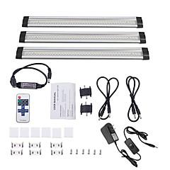 preiswerte LED Lichtstreifen-0,3 m Lichtsets 42 LEDs SMD3528 1 11Tastenfernbedienung / 1 bis 2 Kabelanschluss / 1 x 12V / 1A Adapter Warmes Weiß Selbstklebend 12 V 1 set
