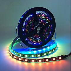 お買い得  LED ストリングライト-BRELONG® 5m RGBストリップライト 150 LED 5050 SMD RGB 防水 / クリエイティブ / カット可能 5 V 1個