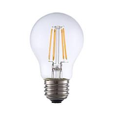 お買い得  LED 電球-GMY® 1個 3.5 W 350 lm E26 / E27 フィラメントタイプLED電球 A17 4 LEDビーズ COB 装飾用 温白色 120 V