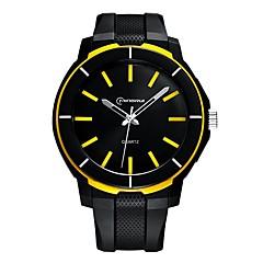 お買い得  メンズ腕時計-男性用 スポーツウォッチ クォーツ ブラック 耐水 夜光計 ハンズ カジュアル ファッション - グリーン ブルー 海軍