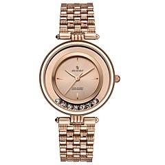 preiswerte Damenuhren-Damen Armbanduhr Japanisch Japanischer Quartz Schwarz / Silber 30 m Armbanduhren für den Alltag Analog Modisch Minimalistisch - Schwarz Silber Rotgold Zwei jahr Batterielebensdauer