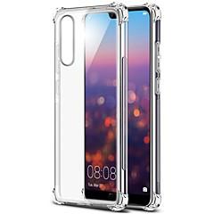 رخيصةأون وصلنا حديثًا-غطاء من أجل Huawei Huawei Mate 20 Lite / Huawei Mate 20 Pro شفاف غطاء خلفي لون سادة ناعم TPU إلى Huawei Mate 20 lite / Huawei Mate 20 pro / Huawei Mate 20