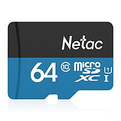 رخيصةأون بطاقات الذاكرة-Netac 64GB شريحة ذاكرة UHS-I U1 / CLASS10 P500