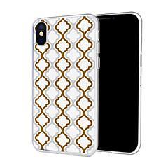 Недорогие Кейсы для iPhone X-Кейс для Назначение Apple iPhone XS / iPhone XR С узором Кейс на заднюю панель Полосы / волосы Мягкий ТПУ для iPhone XS / iPhone XR / iPhone XS Max