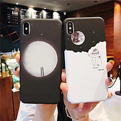 Недорогие Кейсы для iPhone X-Кейс для Назначение Apple iPhone XR / iPhone XS Max Сияние в темноте / Матовое Кейс на заднюю панель Пейзаж Твердый ПК для iPhone XS / iPhone XR / iPhone XS Max