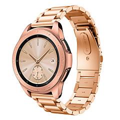 Недорогие -Ремешок для часов для Gear S2 / Gear S2 Classic / Samsung Galaxy Watch 42 Samsung Galaxy Бабочка Пряжка Нержавеющая сталь Повязка на запястье