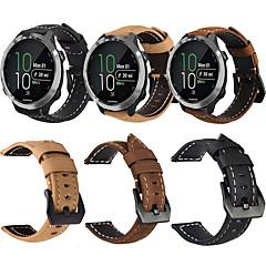 Недорогие -ремешок на запястье из натуральной кожи в стиле ретро, ремешок на запястье для Garmin Forerunner 645 / Vivoactive 3 / Forerunner 245 м / 245 / Vivomove Hr Smart Watch