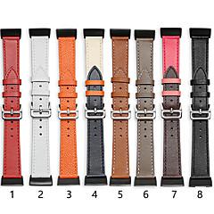 Недорогие -Ремешок для часов для Fitbit Charge 3 Fitbit Классическая застежка Натуральная кожа Повязка на запястье