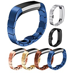 ieftine -Uita-Band pentru Fitbit Alta HR / Fitbit Alta Fitbit Catarama moderna Oțel inoxidabil Curea de Încheietură