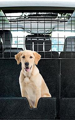 رخيصةأون -كلاب شاشة واقيه أقفاص سيارة مقعد الغطاء حيوانات أليفة حاملات قابل للتعديل السفر قابلة للطي لون سادة أسود