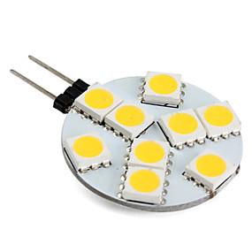abordables Luces LED de Doble Pin-1 W Luces LED de Doble Pin 250-300 lm G4 9 Cuentas LED SMD 5050 Blanco Cálido 12 V