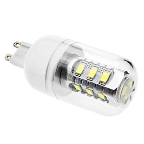 ieftine Becuri LED Corn-Becuri LED Corn 6500 lm G9 15 LED-uri de margele SMD 5630 Alb Natural 220-240 V 110-130 V / #