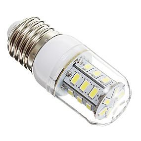 ieftine Becuri LED Corn-1 buc 3 W 270 lm E14 / E26 / E27 Becuri LED Corn 24 LED-uri de margele SMD 5730 Alb Cald / Alb Rece 220-240 V