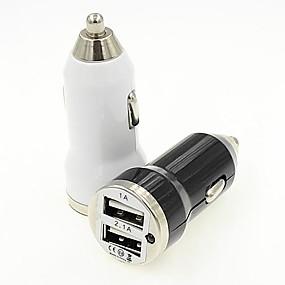 olcso Google-Autós töltő USB töltő Multi port 2 USB port 2.1 A / 1 A DC 12V-24V mert